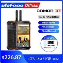 """Ulefone鎧 3t IP68 防水携帯電話アンドロイド 8.1 5.7 """"fhd + エリオP23 オクタコア 4 ギガバイト 64 ギガバイト 21MPトランシーバースマートフォン"""