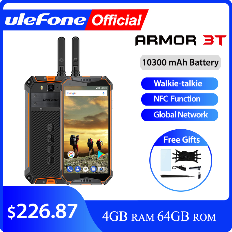 Ulefone Armor 3T IP68 Waterproof Mobile Phone Android 8.1 5.7