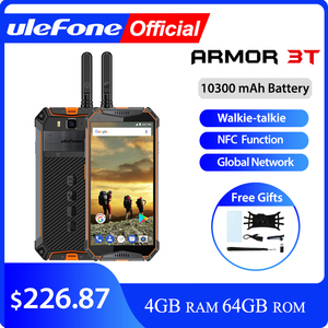 """Image 1 - Ulefone Armor 3T IP68 Waterproof Mobile Phone Android 8.1 5.7"""" FHD+ helio P23 Octa Core 4GB 64GB 21MP  Walkie Talkie Smartphone"""