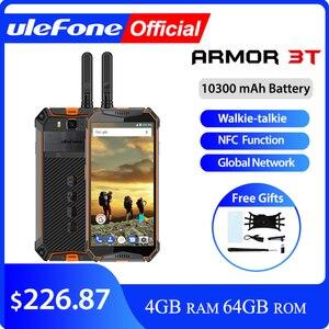 "Image 1 - Ulefone armor 3t ip68 celular à prova d água, android 8.1, tela 5.7 ""fhd +, helio p23, octa core, 4gb walkie talkie 21mp, smartphone 64gb"