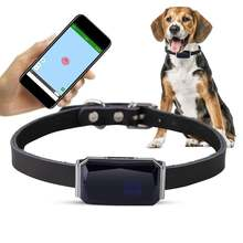 Gps трекер для домашних животных ip67 водонепроницаемый регулируемый