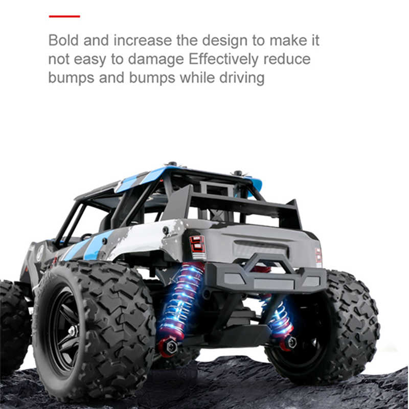 40+MPH 1//18 Scale RC Car 2.4G 4WD High Speed Fast Remote Controlled Large TRACK