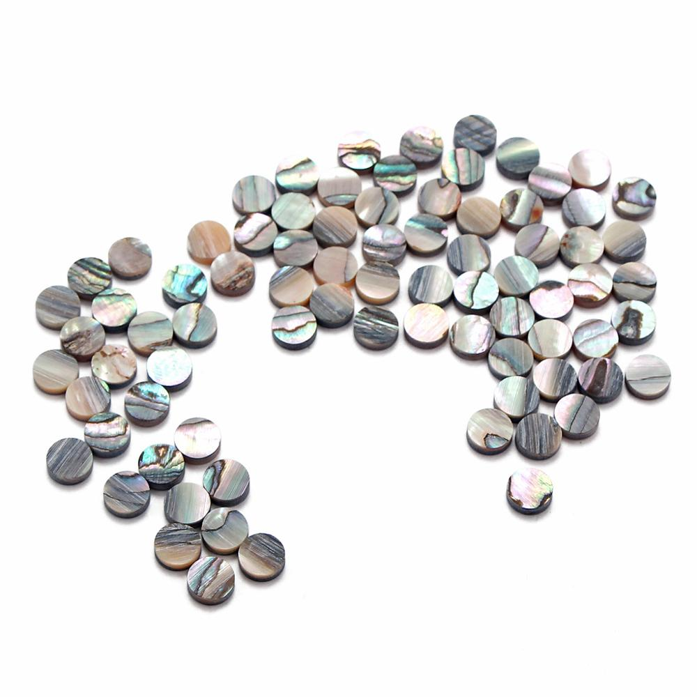 10  Paua Abalone  Shell  Luthier Dots 3 mm