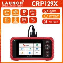 השקת X431 CRP129X אוטומטי קוד קורא OBD2 אבחון כלי OBD2 סורק AutoVIN סורק Automotivo אבחון סורק PK CRP129E