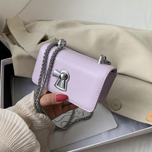 Chain Square Crossbody Bags For Women 2020 New Fashion Trend Korean Version Of The Simple Shoulder Bag Purse Phone bag 2017 new women bag beautiful women version of the purse fashion bags
