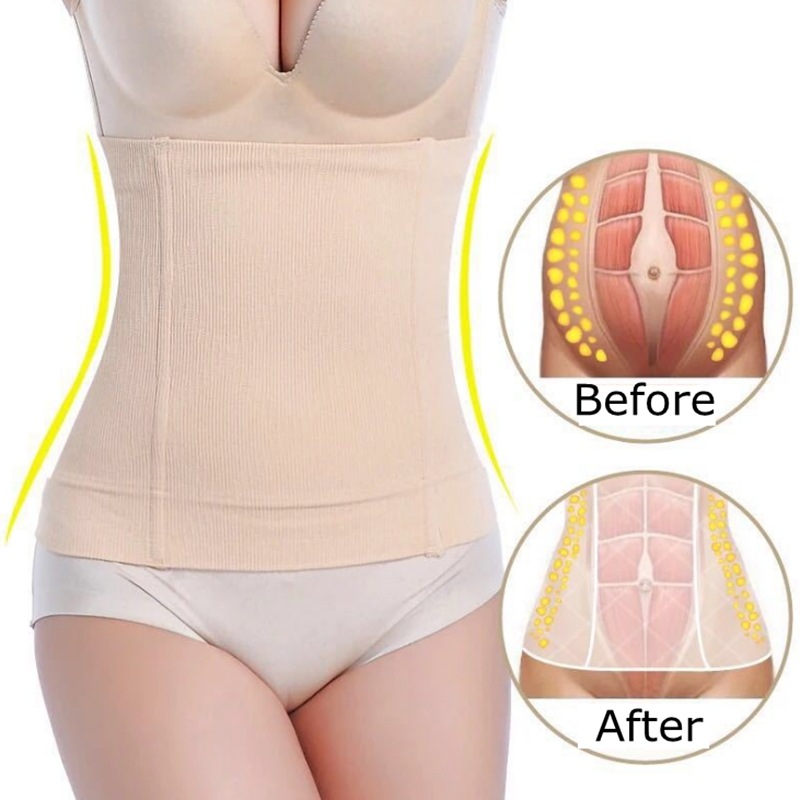 Waist Trainer Corset Weight Loss Workout Body Shaper Seamless Hip Women Shapewear Modeling Girdle Slimming Belt Stomach Shapers