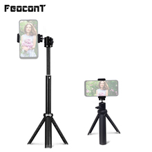 Lightweight Mini Tripod for Tripod for Phone with Holder Extendable Tripod Stand Selfie Stick for Vlogging Live Streaming Camera