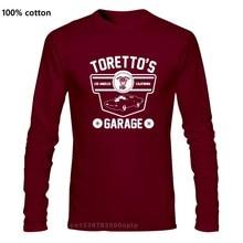 Torettos garage inspirado no rápido & furioso t-camisa masculina