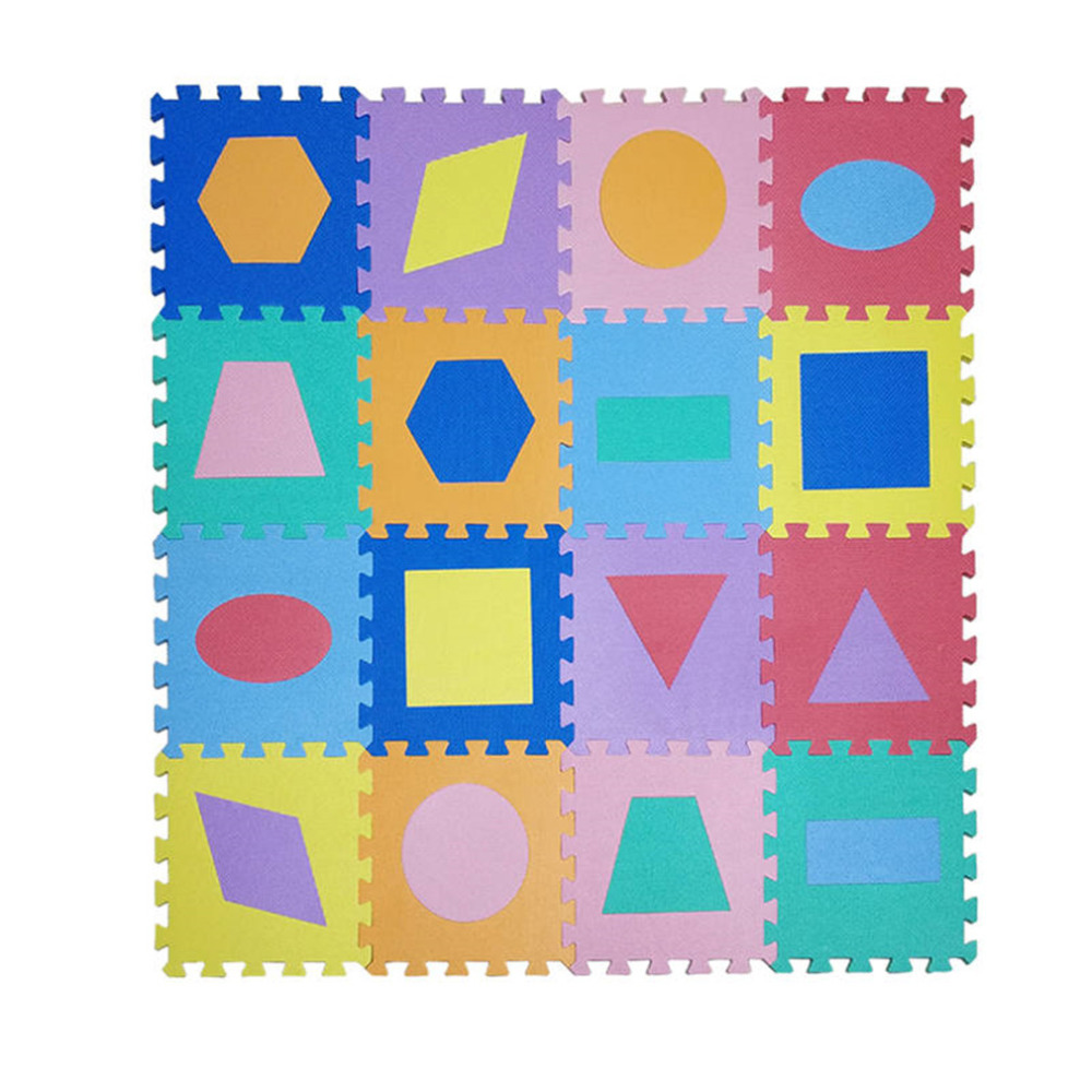Meitoku-EVA-Foam-Puzzle-Baby-Play-Mat-Geometric-Polygon-Interlocking-Education-Floor-Carpet-Tiles-Rug-for