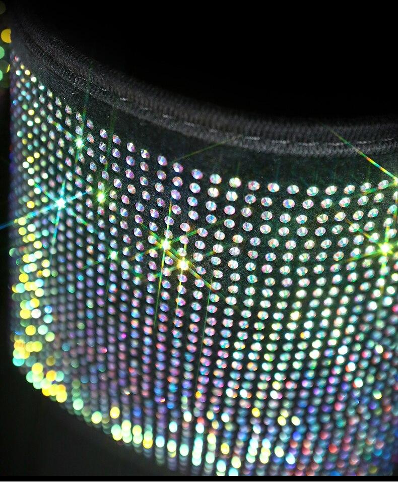 organizador assento de volta titular cristal diamante