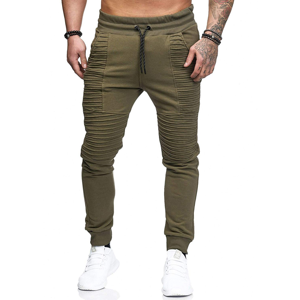 Men Pants New Fashions Joggers Pants Male Casual Sweatpants Bodybuilding Fitness Track Pants Men's Sweat Trousers Slim Fit