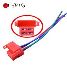 Plug de relé solenóide para iniciante de moto, peça elétrica conectora de 4 fios para honda cbr 600 900 929 954 1100xx 1000f vtr