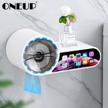 ONEUP Dispenser di carta igienica impermeabile porta carta igienica scatola di carta per bagno rotolo di carta scatola di immagazzinaggio di carta accessori per il bagno