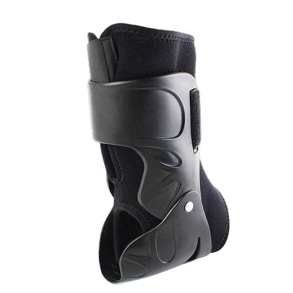 Ankle Support Tendonitis Adjustable Bandage Hiking Foot Brace Reduce Swelling Nylon Basketball Volleyball Cycling Pressurized
