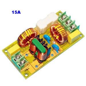 Image 4 - Lusya 2A 4A 15A 25A EMI filtr zakłóceń elektromagnetycznych moduł zasilanie prądem zmiennym filtr T1186