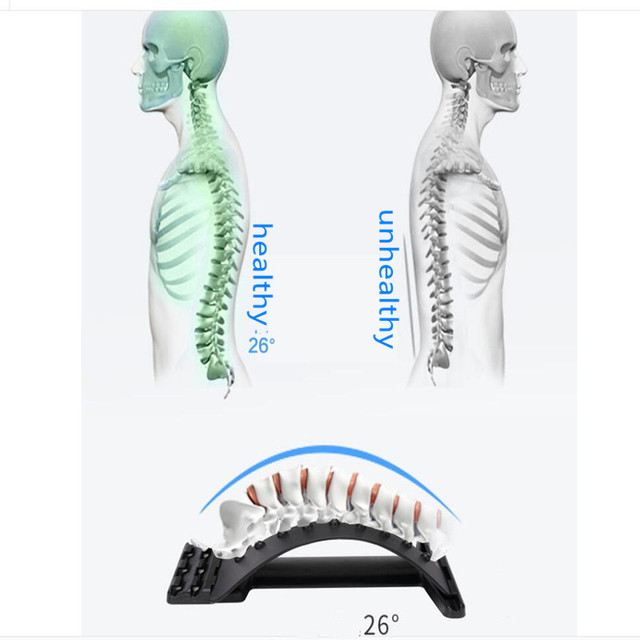 Back Massage Magic Stretcher Fitness Equipment Stretch Relax Mate Stretcher Lumbar Support Spine Pain Relief Chiropractic 3