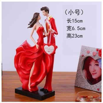 Girlfriends wedding Gift giving New girlfriend opening gifts Sculpture Lucky horse carriage Statue art Crafts home decoration