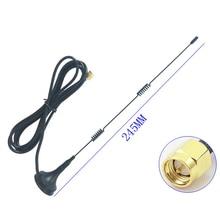 SMA 2,4 ГГц 9DBI WiFi усилитель Aeria беспроводной Wifi WLAN 5 раз Диапазон усилитель антенны удлинитель+ база