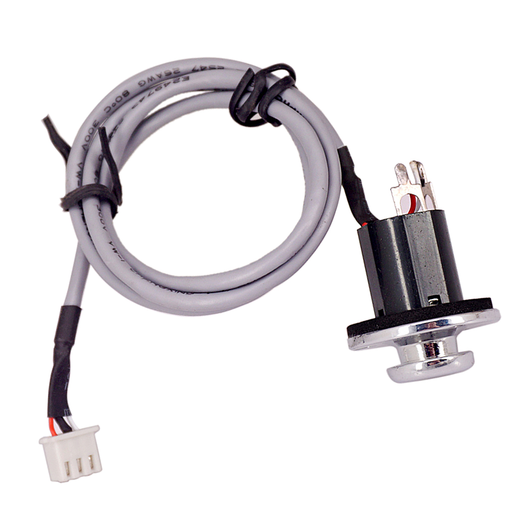 1pc 6.35mm <font><b>End</b></font> <font><b>Pin</b></font> Output <font><b>Jack</b></font> Socket Plug Cable For <font><b>Guitar</b></font> Pickup EQ Preamp image