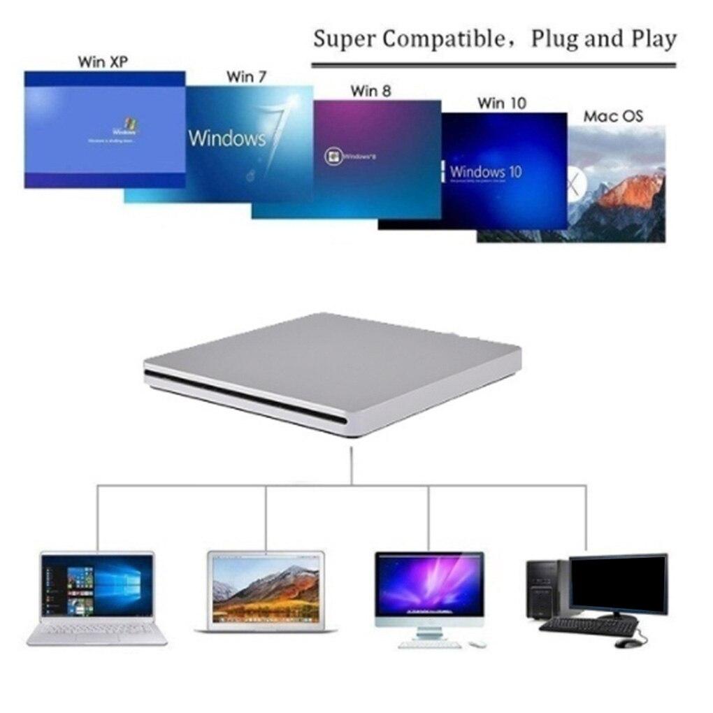 External USB 3.0 Slot DVD Burner External Mobile Disc Player Laptop Computer Optical Drive 3