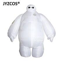 JYZCOS Adulto Gonfiabile Baymax Costume di Halloween del Costume di Cosplay di Nuovo Big Hero 6 Della Mascotte Costumi Del Partito Del Vestito Operato per le Donne Degli Uomini