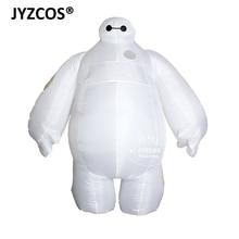 JYZCOS Costume Baymax gonflable pour adulte, déguisement Cosplay dhalloween, déguisement de grand héros 6 et mascotte de fête, pour hommes et femmes