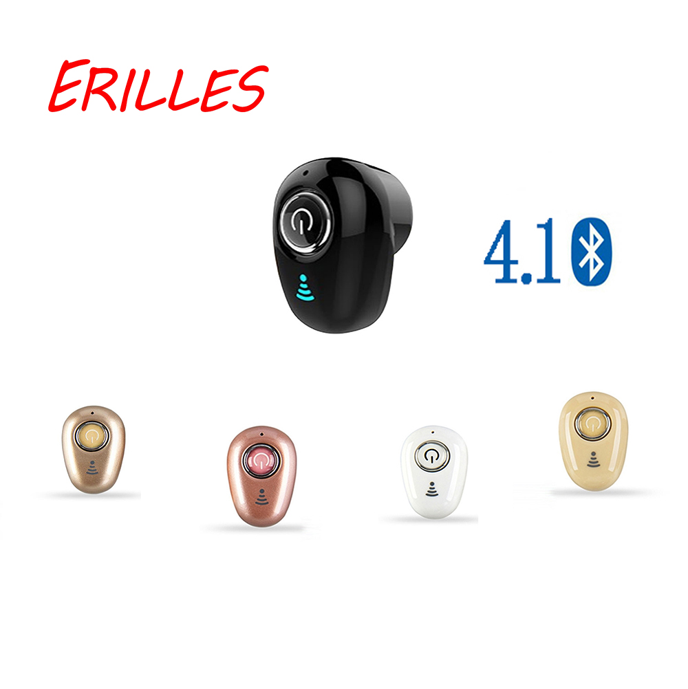 Mini <font><b>Bluetooth</b></font> Kopfhörer S650 <font><b>Wireless</b></font> In-Ear Unsichtbare <font><b>Auriculares</b></font> Earbuds Headset Stereo mit Mic für iPhone huawei image