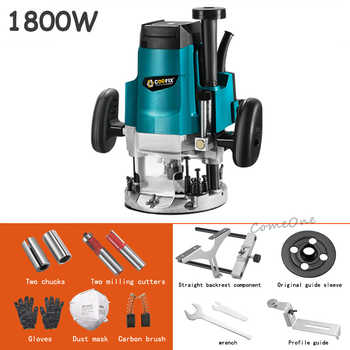 220V Multi-function Mini Woodworking Trimming Machine Trimmer Engraving Wood Milling Machine - Category 🛒 Tools