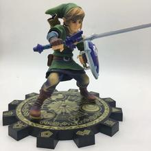 цены на Hot Selling Link Zelda Skyward Sword PVC Action Figure 1/7 Anime Game Toy Zelda Link Figurine Collectible Model Toy  в интернет-магазинах