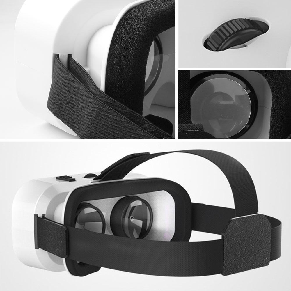 5.0 VR Virtual Glasses Reality 3D VR Glasses Smartphone Box Stereo Headset Helmet For IOS VR Glasses Android Rocker Googles Mini 3