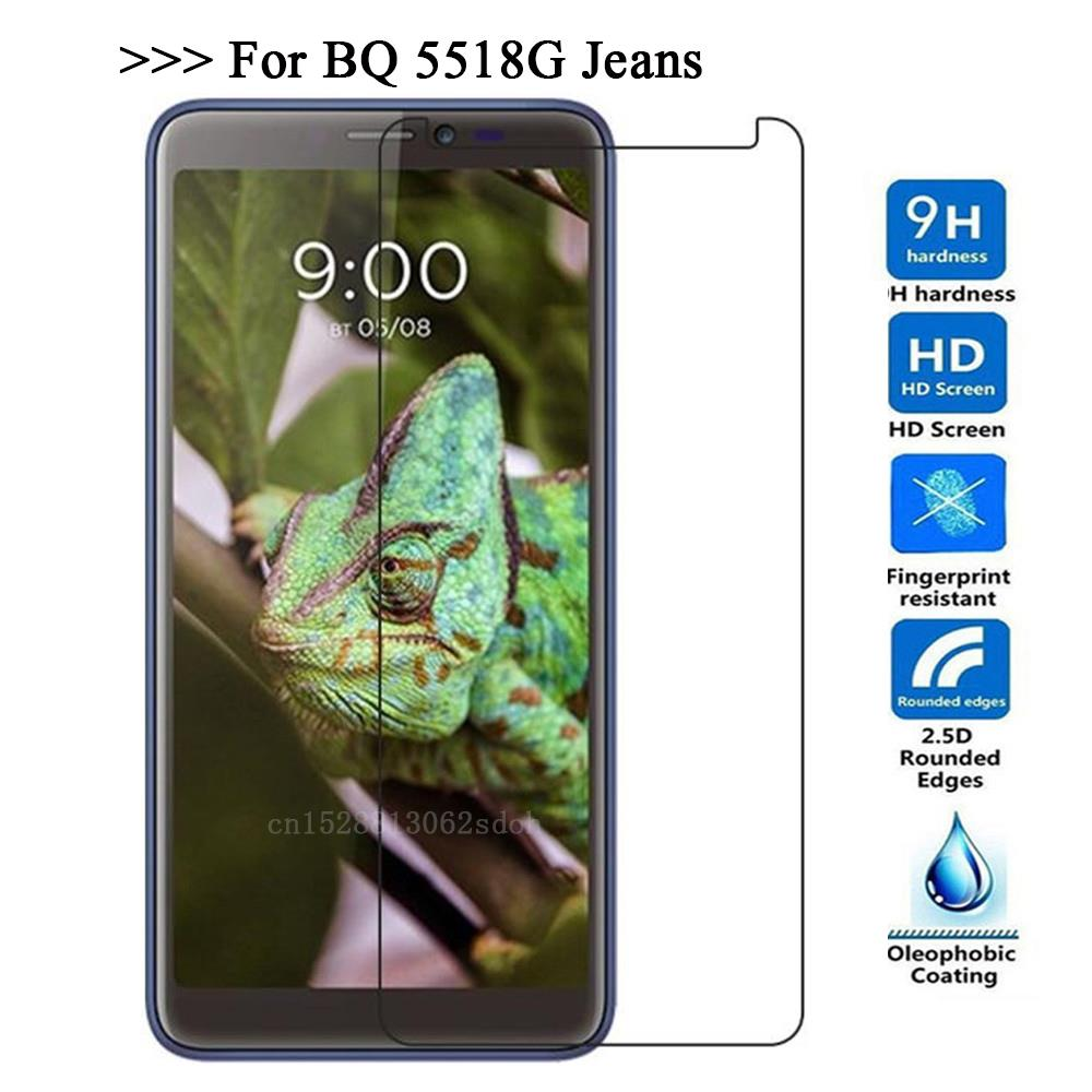 9H 2.5D Tempered Glass For BQ 5518G Jeans Screen Protector Glass On The For BQ 5518G Jeans Protective Film Glass