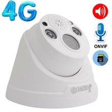 Камера видеонаблюдения jienuo 4g sim карта ip 5 МП 1080p wi