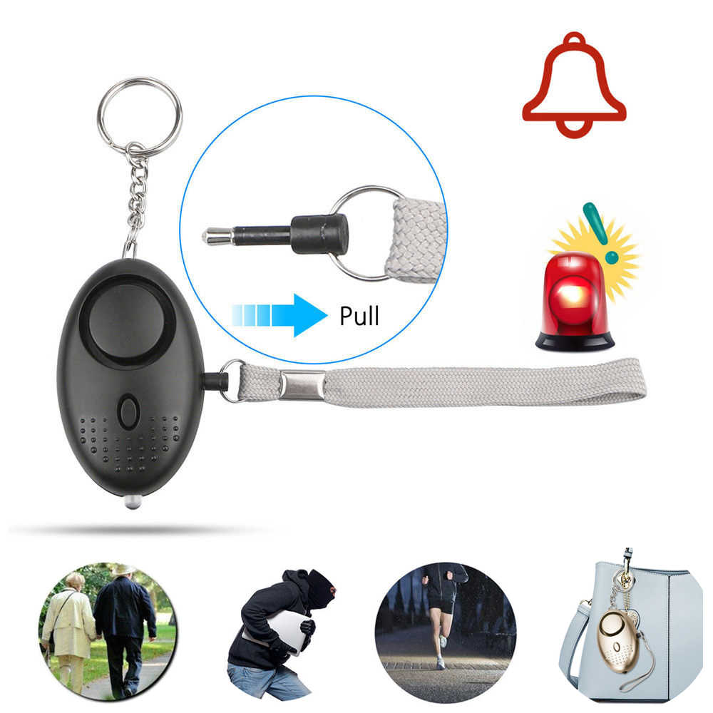 DASF Self Defence Anti-pervert Alarm 130 Decibels 6 Hours Alarm Duration 20 Hours Led Lighting Time Self Defence Weapons For Women Girls Kids and Elderly