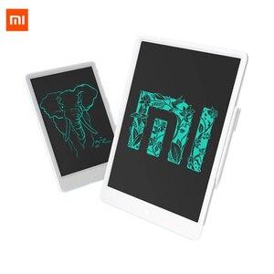 """Image 1 - Xiaomi mijia lcd tablet de escrita em estoque com caneta 10/13. placa gráfica de caligrafia eletrônica desenho digital 5 """", bloco de mensagem"""
