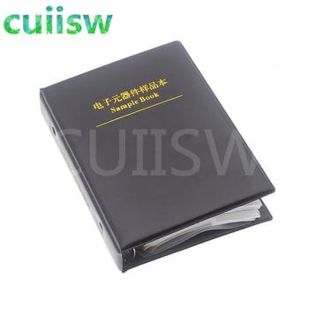 0402 SMD Capacitor Sample Book 80valuesX50pcs=4000pcs 0.5PF~1UF Capacitor Assortment Kit Pack 4