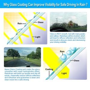 Image 5 - 100ml płyn przeciwdeszczowy szkło samochodowe odstraszacz komarów w sprayu Super hydrofobowy powłoka ceramiczna Nano wodoodporne czyszczenie szyb samochodowych