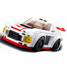 Sluban Compatible legoingly City Speed Champions Super Racers car racing Technic model moc Kid Toys sets kits child suv off road