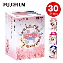 Du Lịch 30 Tờ Máy Chụp Ảnh Lấy Ngay Fujifilm Instax Mini 9 Phim Viền Trắng 3 Inch Cho Ngay 7 8 25 50 S 70 90 SP 1 SP 2 Giấy In Ảnh