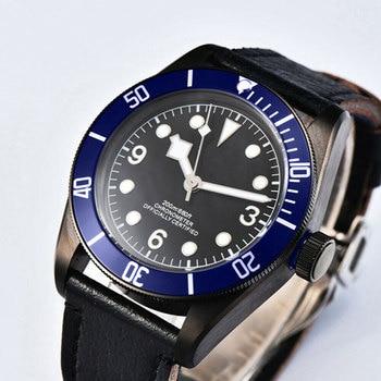 Mechanical wristWatches 41mm Corgeut sterile dial Miyota 、Seagull Sapphire Glass Waterproof swim  Luminous Automatic mens watch
