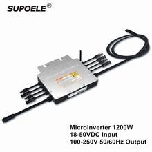 Водонепроницаемый IP65 сетевой инвертор на солнечных батарейках микро инвертор 1200 Вт SG1200 микроинвертор инверсор для на сетке солнечной энергии системы