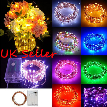 Sale 2M 5M 10M String Light Garland Rattan Led Strip Copper Wire Icicle Lights Chain D30