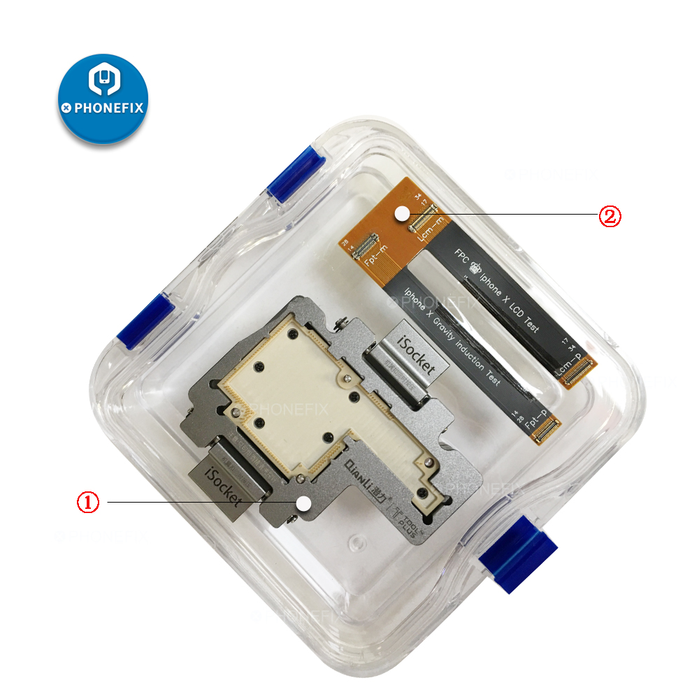 iSocket Jig Phone Upper Lower Layers Logic Board Test Fixture for IPhone X