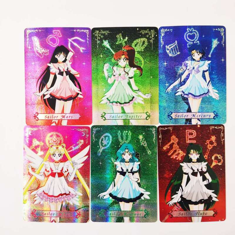 10pcs/set Sailor Moon Sexy Girl Toys Hobbies Hobby Collectibles Game Collection Anime Cards Free Shipping Sexy Beauty