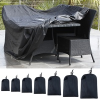 Oxford Cloth Furniture Cover Dust Proof Waterproof Portable Furniture Cover For Outdoor Shade Sails & Nets