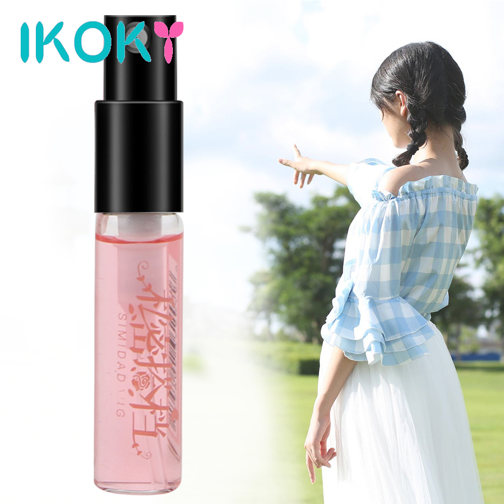 IKOKY 3ML Pheromone Perfume For Men Aphrodisiac Attract Women Water Flirt Perfume Woman Orgasm Body Spray Sexual Products
