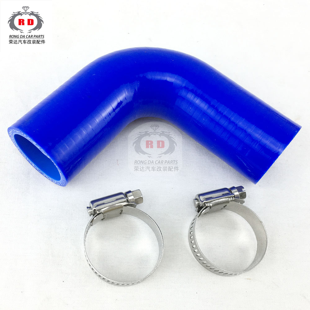 AutoSiliconeHoses 25mm ID Blue 180 Degree Silicone Elbow Hose