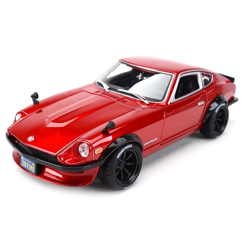 Maisto 1:18 1971 Datsun 240Z Sports Car Static Simulation Diecast Alloy Model Car