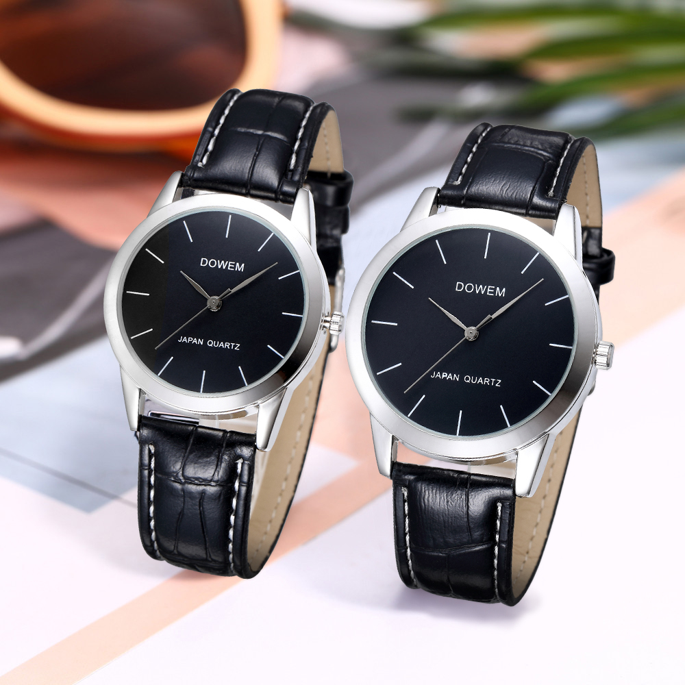 Shifenmei Couple Watches Pair Men And Women Waterproof Leather Watch Fashion Lovers Watch Quartz Wrist Watches For Men Women