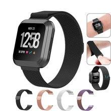 Fitbit Versa Edelstahl Strap Qualität Armband Armband Multi-stil für Fitbit Versa Uhr Band Armband Wasserdicht