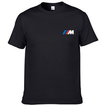Bmw M poche imprimer drôle hommes T-shirt coton décontracté à société courtes manches col rond hommes T-shirt Legal T-shirt homm